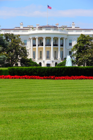 white house: Washington DC, capital city of the United States. White House building. Presidential office.