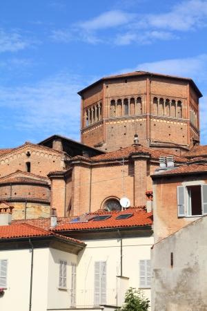 piacenza: Piacenza, Italia - Emilia-Romagna. Catedral que domina la ciudad.