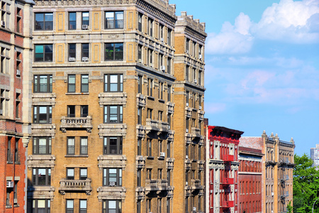 New York City, United States - famous Columbia University campus in Upper Manhattan (Morningside Heights neighborhood of Upper West Side)