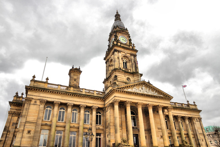 Bolton, North West England, UK - the Town Hall.