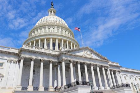 Washington DC, der Hauptstadt der Vereinigten Staaten. National Capitol Gebäude. Lizenzfreie Bilder