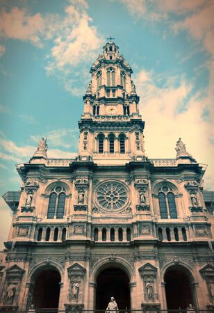 Paris, France - Saint Trinity Church in 9th arrondissement. Stock Photo - 26352092