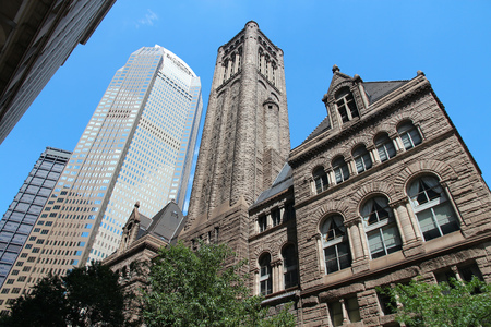 allegheny: Pittsburgh, Pennsylvania - city in the United States. Famous Allegheny county courthouse.