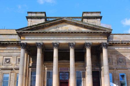 merseyside: Liverpool - citt� in Merseyside contea di North West England (UK). World Museum Liverpool. Editoriali