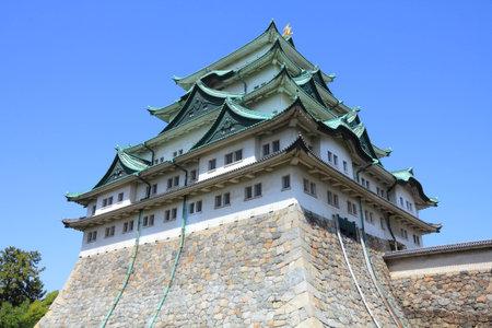 chubu: Nagoya, Japan - city in the region of Chubu in Aichi prefecture. Nagoya-jo castle.