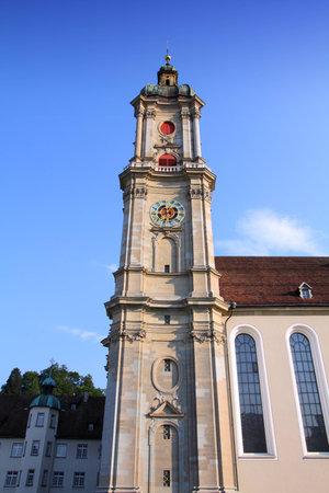 st  gallen: Abad�a de St. Gallen en Suiza - patrimonio de la humanidad por la UNESCO Editorial