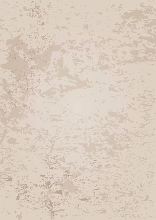 smeared: Grungy background illustration - stained paper or wall background. Old material. Illustration