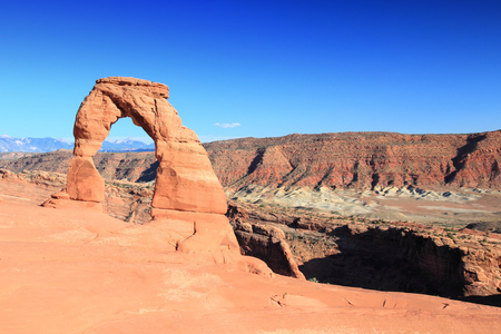 Arches National Park in Utah, USA. Famous Delicate Arch. Stock Photo - 29283645