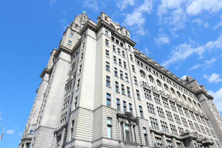Liverpool - city in Merseyside county of North West England (UK).  photo