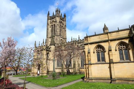Manchester - city in North West England (UK). Anglican Cathedral. photo