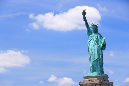 New York City, United States - Statue of Liberty. photo