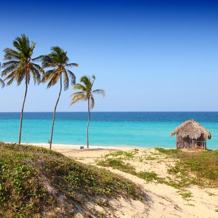 Caribbean beach Playa Megano in Playas del Este part of Havana Province, Cuba photo