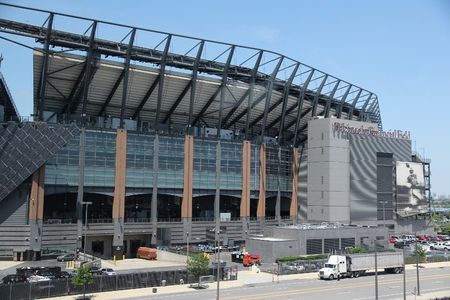 PHILADELPHIA, USA - JUNE 12, 2013: Lincoln Financial Field stadium in Philadelphia. It is the home stadium for NFL team Philadelphia Eagles and Temple Owls university football team. Editorial