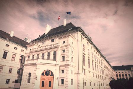 hofburg: Vienne, Autriche - palais de Hofburg.