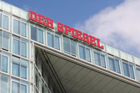 ハンブルク, ドイツ - 2014 年 8 月 29 日: ハンブルクの Der Spiegel 雑誌のオフィスの現代建築の外観。100 万 1 週あたりの循環とヨーロッパの最大のニュース雑誌の一つです。 写真素材 - 34226716