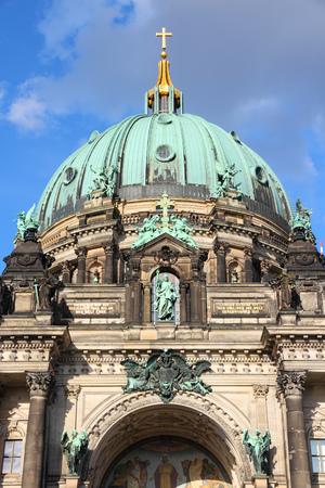 dom: Berlin, Allemagne. architecture de la ville de la capitale - la cath�drale de Berlin (Berliner Dom), la renaissance historique de style.