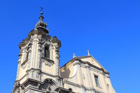 designated: Madrid, Spain. Church of Our Lady of Montserrat, designated Spanish Property of Cultural Interest.