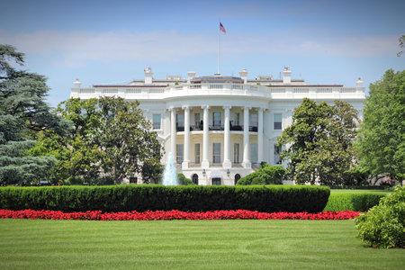 casa blanca: Washington DC, la capital de los Estados Unidos. Edificio de la Casa Blanca. Oficina presidencial.
