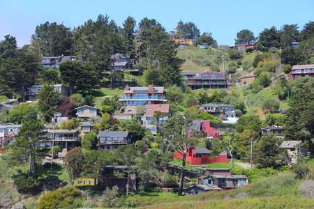 unincorporated: Muir Beach unincorporated community in Marin County, California, United States.