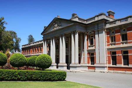 supreme: Perth - Supreme Court of Western Australia. Old building.