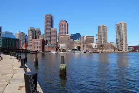 Boston skyline - city in Massachusetts, United States of America. photo
