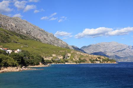 dalmatia: Dalmatia, Croatia - Adriatic Sea coast. Lokva-Rogoznica village.
