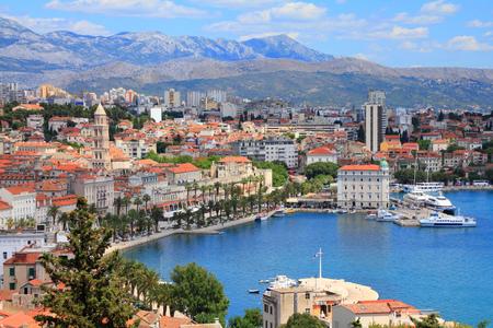 Split, Kroatien (Region Dalmatien).