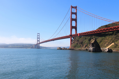 San Francisco, California, United States - Golden Gate Bridge. photo