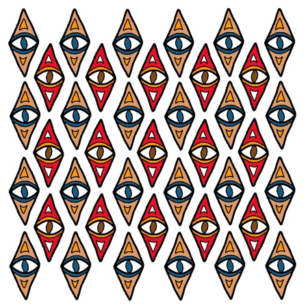 indigenous: Indigenous ceremonial pattern - aboriginal tribal ethnic background