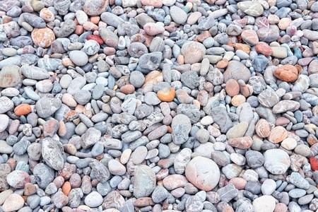 beach shingle: Sfondo Spiaggia di sassi da Creta, in Grecia. Spiaggia di ciottoli.