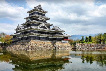 designated: Matsumoto, Japan - town in Nagano prefeture of the region Chubu. Matsumoto Jo castle, designated as National Treasure of Japan.