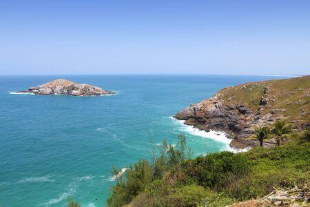 ocean state: Ocean landscape in Brazil - coast in Cabo Frio (state of Rio de Janeiro).