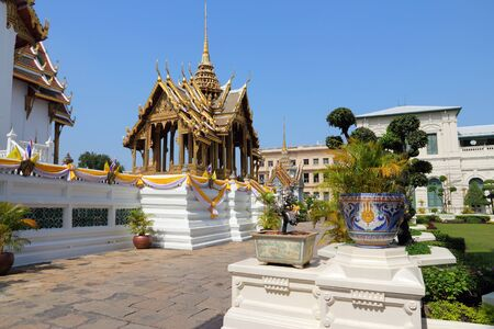 southeast: Bangkok, Thailand, Southeast Asia - Grand Palace architecture.