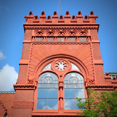 old buildings: Philadelphia, Pennsylvania (United States) - Pennsylvania State University (Penn State). Fisher Fine Arts Library building.