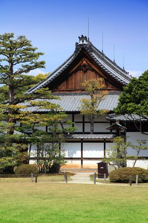 nijo: Kyoto, Japan - historic Nijo Castle of Tokugawa shogunate.