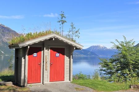 hardanger: Norway - Hardangerfjord Stock Photo