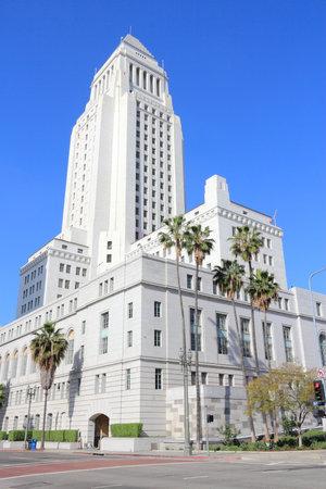 cityhall: Los Angeles, California, United States. City Hall building. Editorial