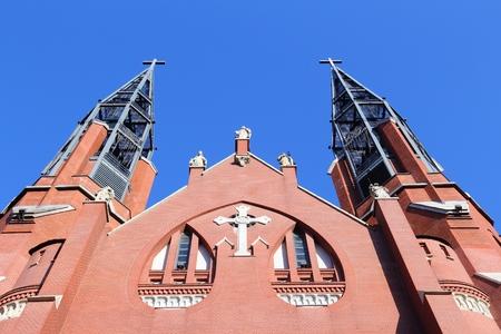 thomas: Sosnowiec, city in Zaglebie Dabrowskie region of Poland. Saint Thomas church.