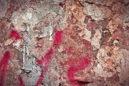 urban decay: Texture of old urban wall. City decay background.