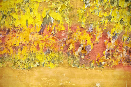 urban decline: Grungy wall background texture. Architecture detail abstract. Flat surface.