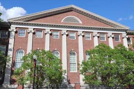harvard university: Cambridge, Massachusetts in the United States. Harvard University - Lehman Hall.