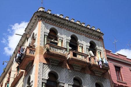 havana cuba: Havana, Cuba - old townhouse with colonial decorations. Editorial