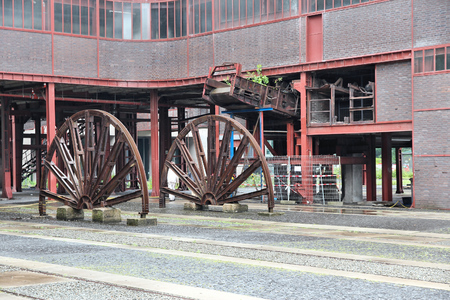 coking: Essen, Germany - Zollverein, Industrial UNESCO World Heritage Site. Former coal mine. Editorial