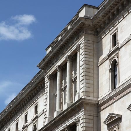 treasury: London, United Kingdom - Her Majestys Treasury building (The Exchequer).