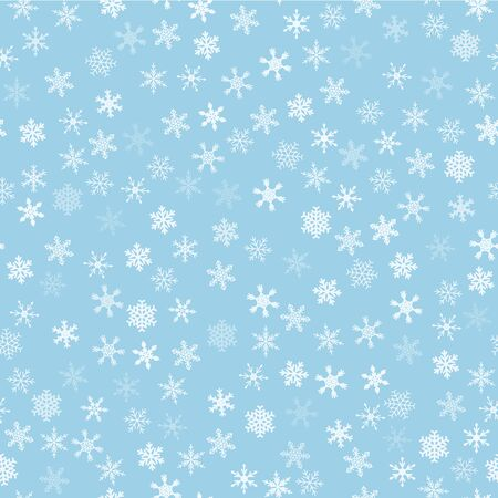 wrapping: Snowflakes pattern - seamless background. Christmas wrapping paper ornament.