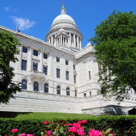 providence: Rhode Island State House in Providence, RI. Editorial