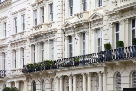 notting hill: Notting Hill in London, United Kingdom - typical English residential architecture. Editorial