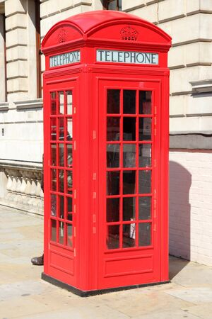 phonebooth: London red telephone booth - symbol of United Kingdom.