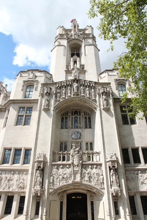 middlesex: Supreme Court of the United Kingdom in London. Middlesex Guild Hall.