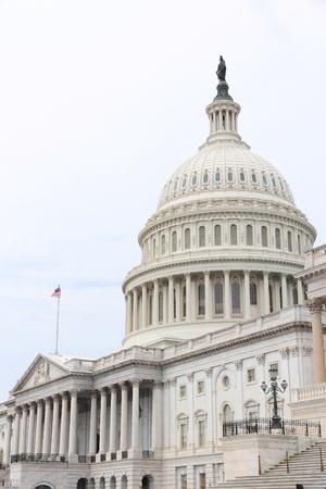 capital building: National Capitol in Washington DC, United States landmark.
